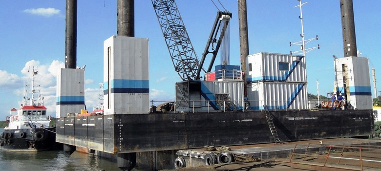 400-tonne Payload Jack Up Barge