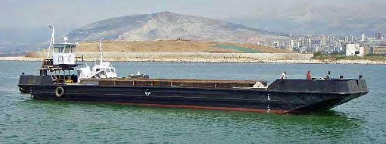 250 m3 Capacity Split Hopper Barge
